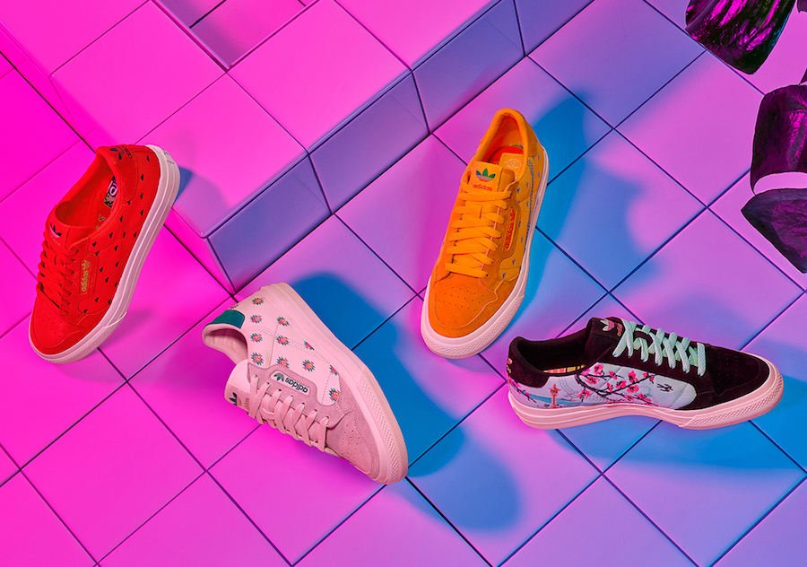 AriZona Ice Tea adidas Continental Vulc Release Date