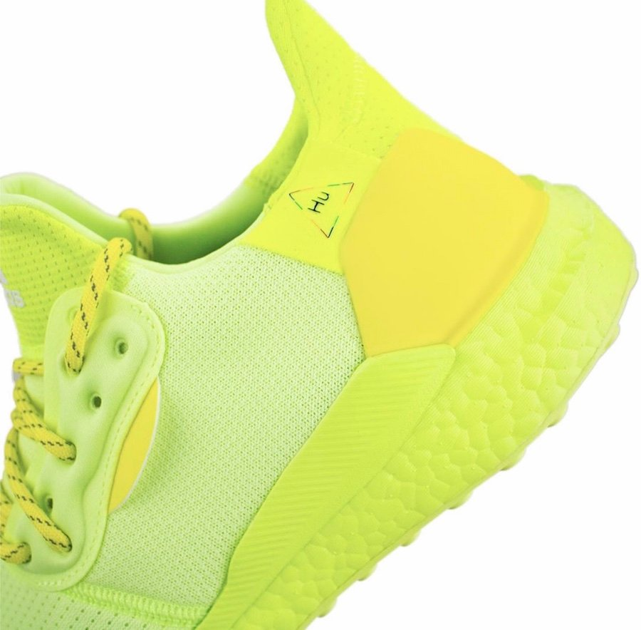 BBC Pharrell adidas Solar Hu Frozen Yellow Now Is Her Time Release Date Info