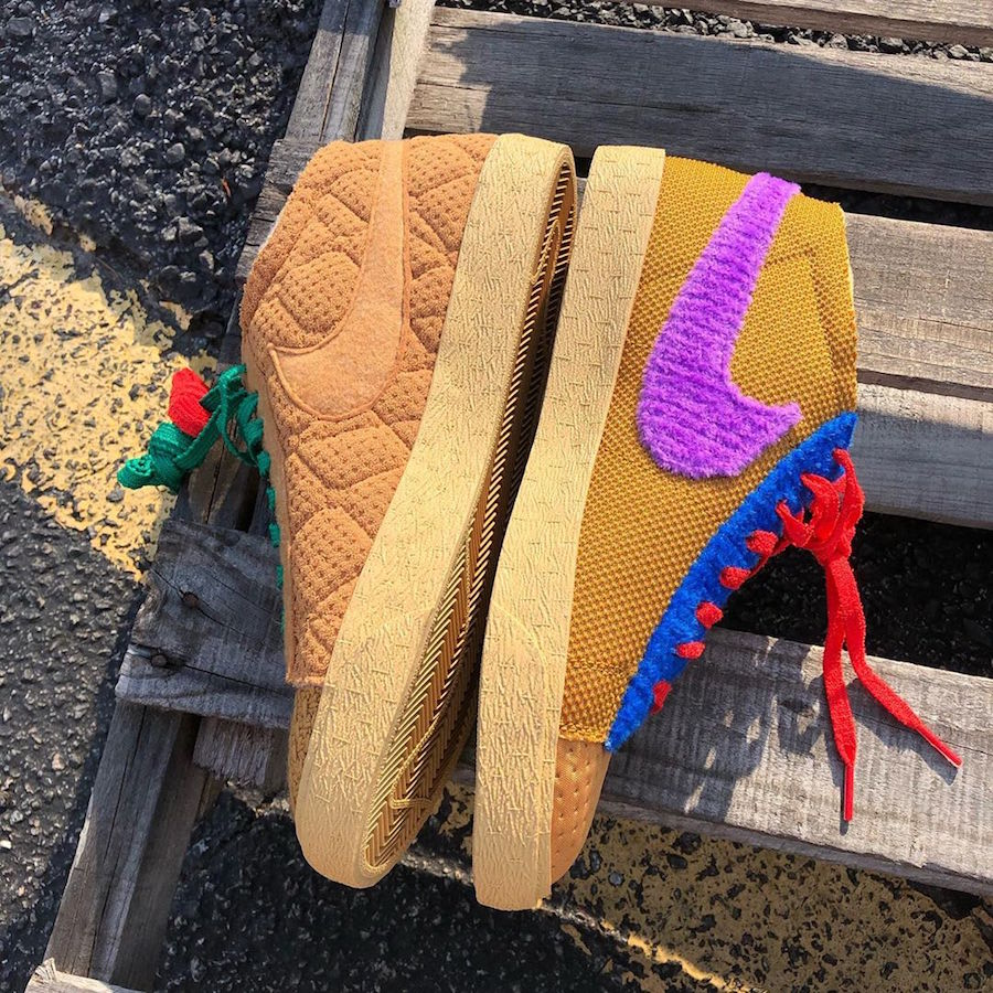 Cactus Plant Flea Market Nike Blazer Mid By You Sponge Release Date Info