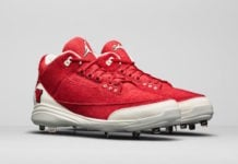 CC Sabathia Air Jordan 3 Vallejo High School Cleats PE