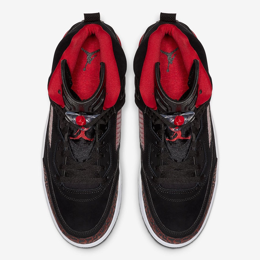 Jordan Spizike Black University Red 315371-060 Release Date Info