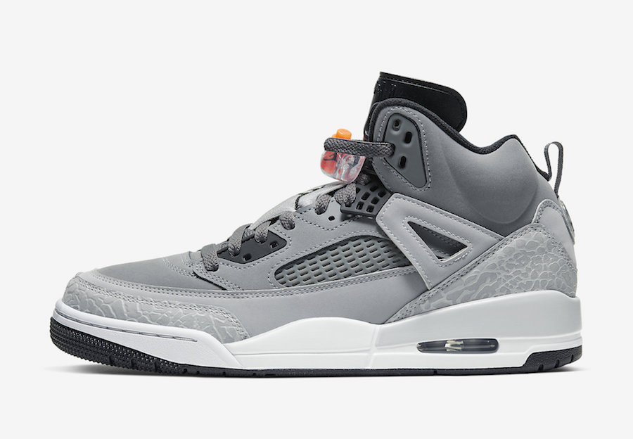 Jordan Spizike Grey Orange 315371-008 Release Date Info