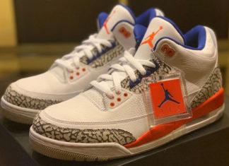 Knicks Air Jordan 3 136064-148
