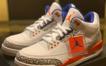 Knicks Air Jordan 3 136064-148