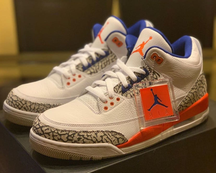 Knicks Air Jordan 3 136064-148 Release Date