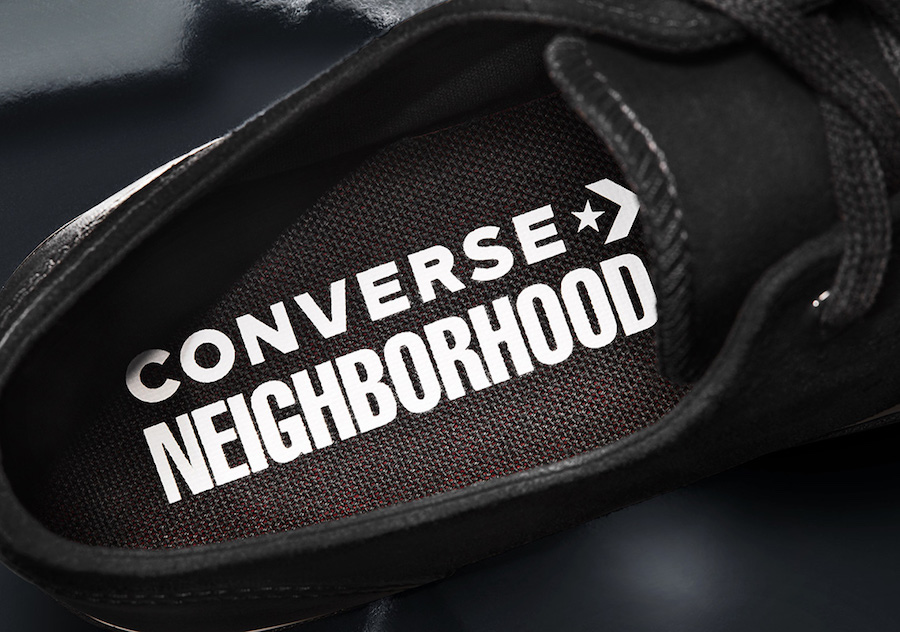 Neighborhood Converse Jack Purcell Black Release Date Info