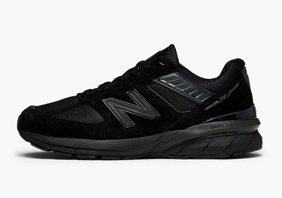 New Balance 990v5 Triple Black Release Date Info