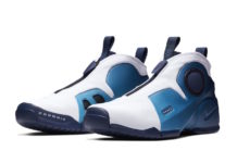 Nike Air Flightposite 2 Retro White Blue Release Date Info