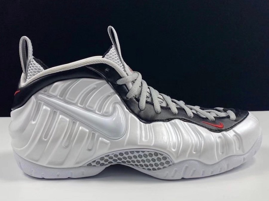 Nike Air Foamposite Pro White Black University Red 624041-103 Release Date