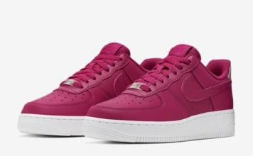 Nike Air Force 1 07 Essential Wild Cherry AO2132-601 Release Date Info