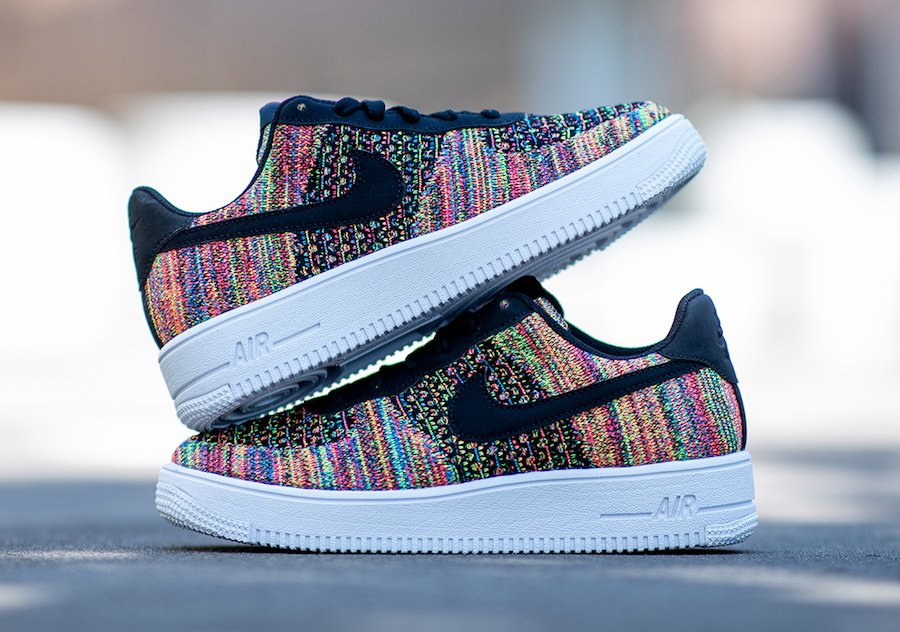 Nike Air Force 1 Flyknit 2.0 Multi-Color BV0063-002 Release Date Info