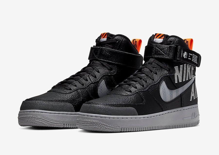Nike Air Force 1 High Black CQ0449-001 Release Date Info