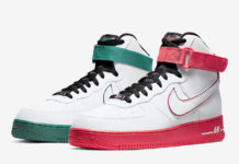 Nike Air Force 1 High China Hoop Dreams CK4581-110 Release Date Info