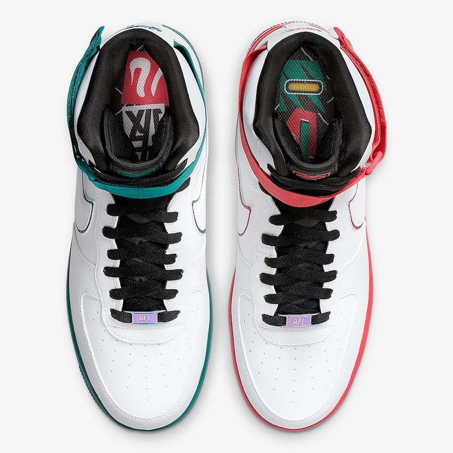 Nike Air Force 1 High China Hoop Dreams CK4581-110 Release Date Info