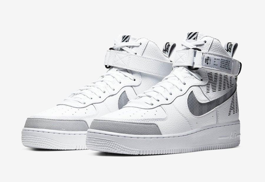 Nike Air Force 1 High White Cq0449 100 Release Date Info Sneakerfiles