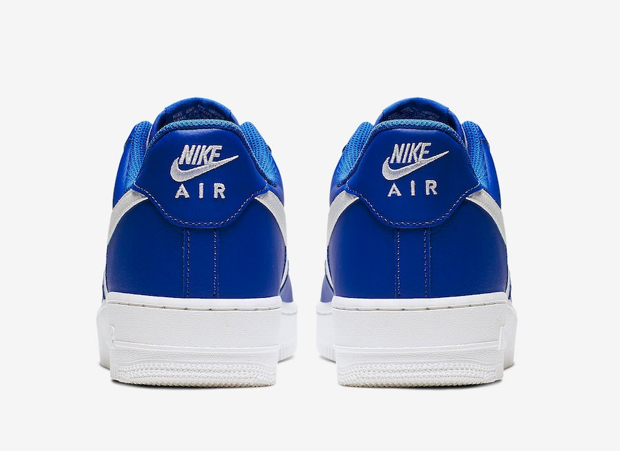 Nike Air Force 1 Low Game Royal White Grey CI0056-400 Release Date Info