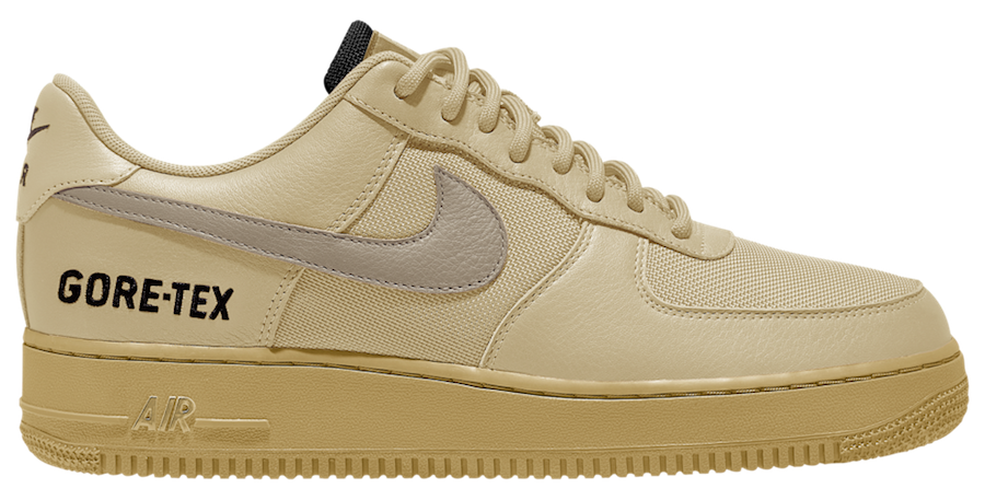 Nike Air Force 1 Low Gore-Tex Khaki Release Date Info