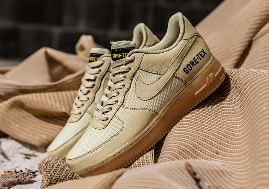 Nike Air Force 1 Low Gore-Tex Tan Gum Release Date