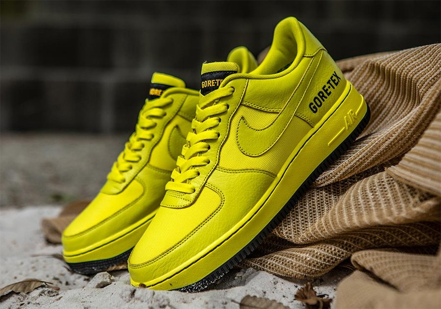 air force 1 goretex gialle