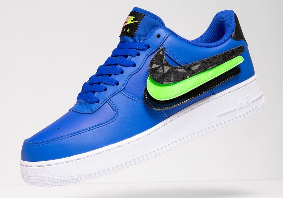 Nike Air Force 1 Low Racer Blue Vapor Green CI0064-400 Release Date Info