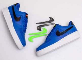 Nike Air Force 1 Low Racer Blue Vapor Green CI0064-400 Release Date Info