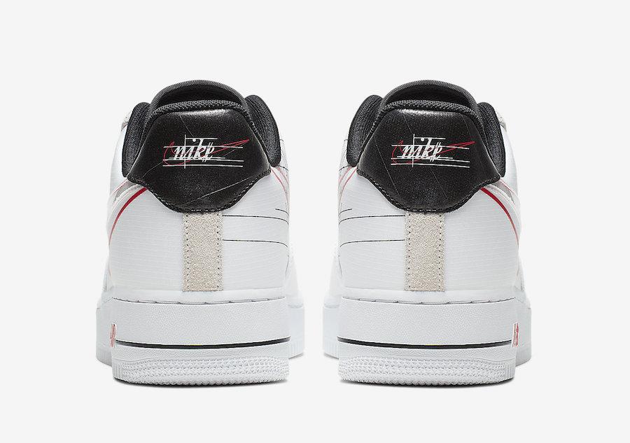 Nike Air Force 1 Script Swoosh CK9257-100 Release Date Info