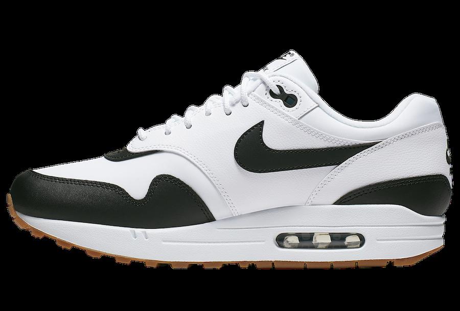 Nike Air Max 1 White Black Gum CQ9965-100 Release Date Info ...