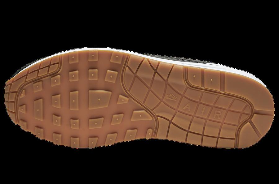 Nike Air Max 1 White Black Gum CQ9965-100 Release Date Info