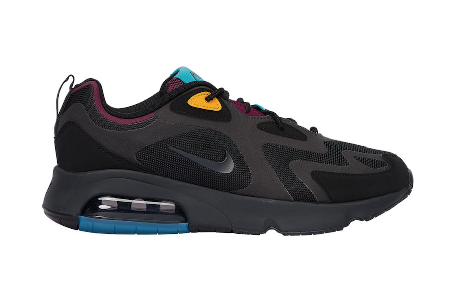 Nike Air Max 200 Bordeaux Aq2568 001 Release Date Info