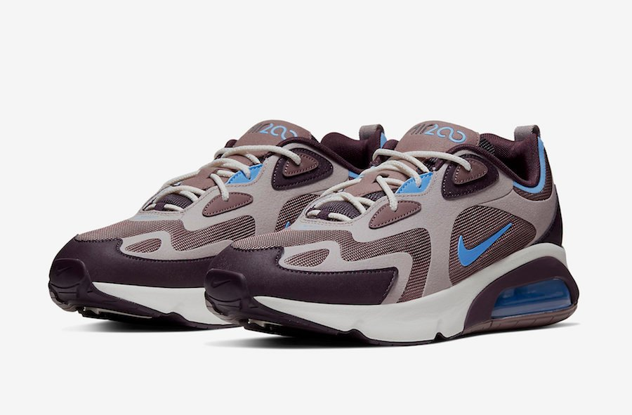 Nike Air Max 200 Brown Blue AQ2568-200 Release Date Info