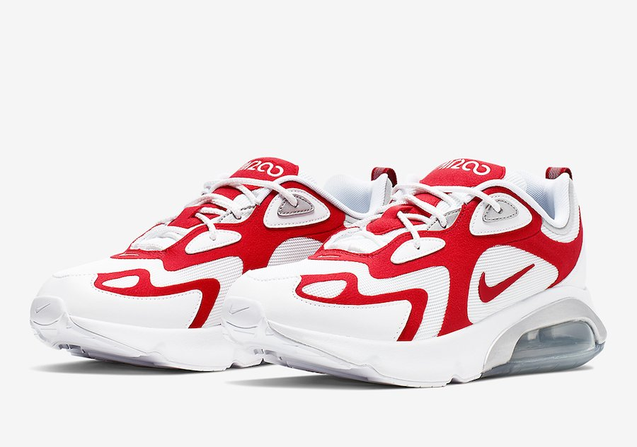 Nike Air Max 200 University Red Aq2568 100 Release Date
