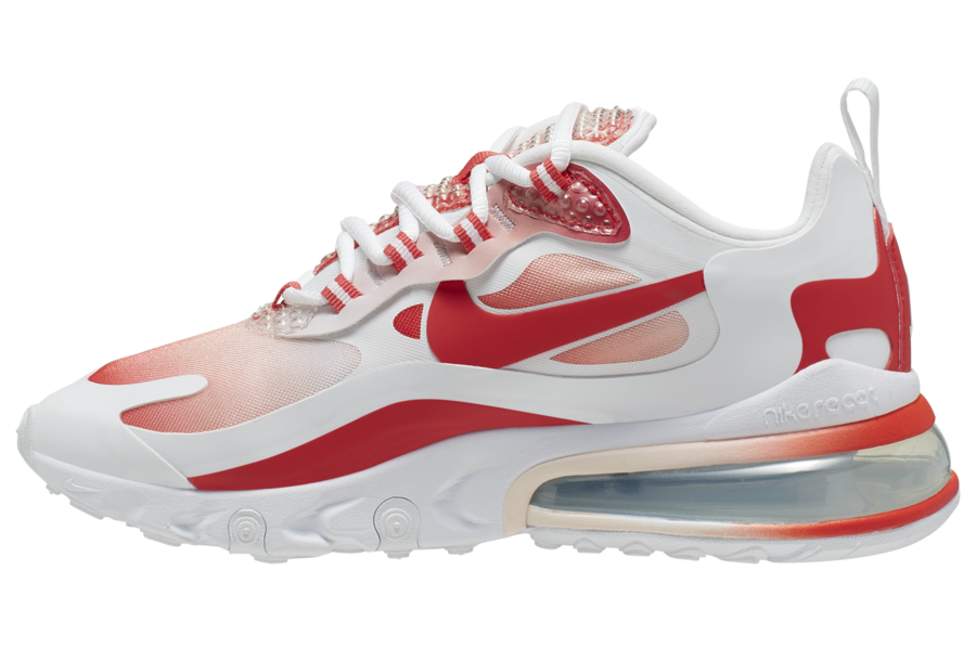 Nike Air Max 270 React Bubble Wrap Red AV3387-100 Release Date Info