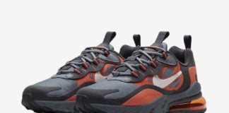 Nike Air Max 270 React Grey Orange BQ0103-006 Release Date Info