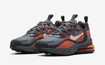 Nike Air Max 270 React Grey Orange BQ0103-006 Release Date Info