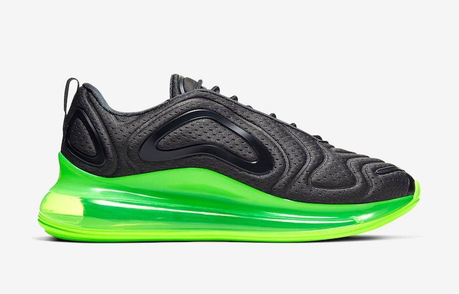 Nike Air Max 720 Black Volt AO2924-018 Release Date Info