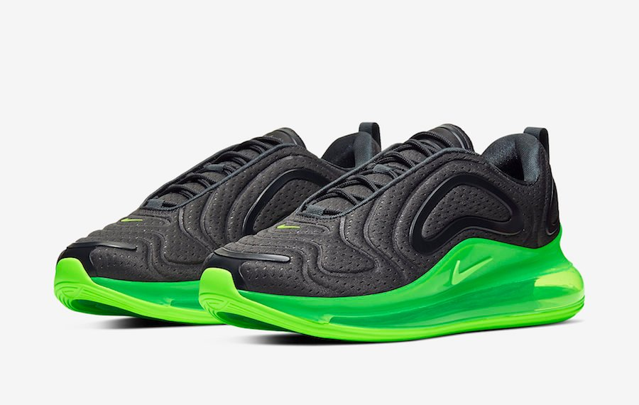 Nike Air Max 720 Black Volt AO2924-018 Release Date Info | SneakerFiles