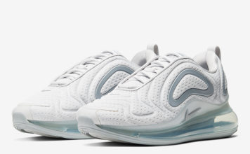 Nike Air Max 720 White Jersey Mesh AR9293-016 Release Date Info