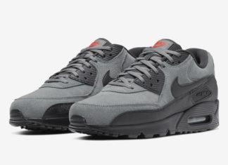 Nike Air Max 90 Essential Grey Suede AJ1285-025 Release Date Info