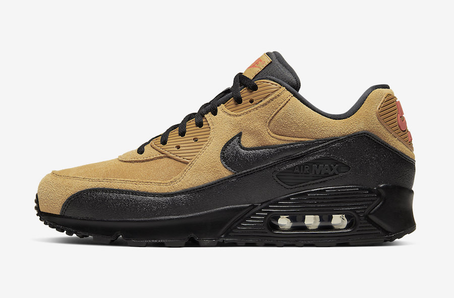 Nike Air Max 90 Essential Wheat AJ1285-700 Release Info