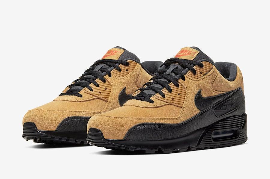 Nike Air Max 90 Essential Wheat AJ1285-700 Release Date Info ...