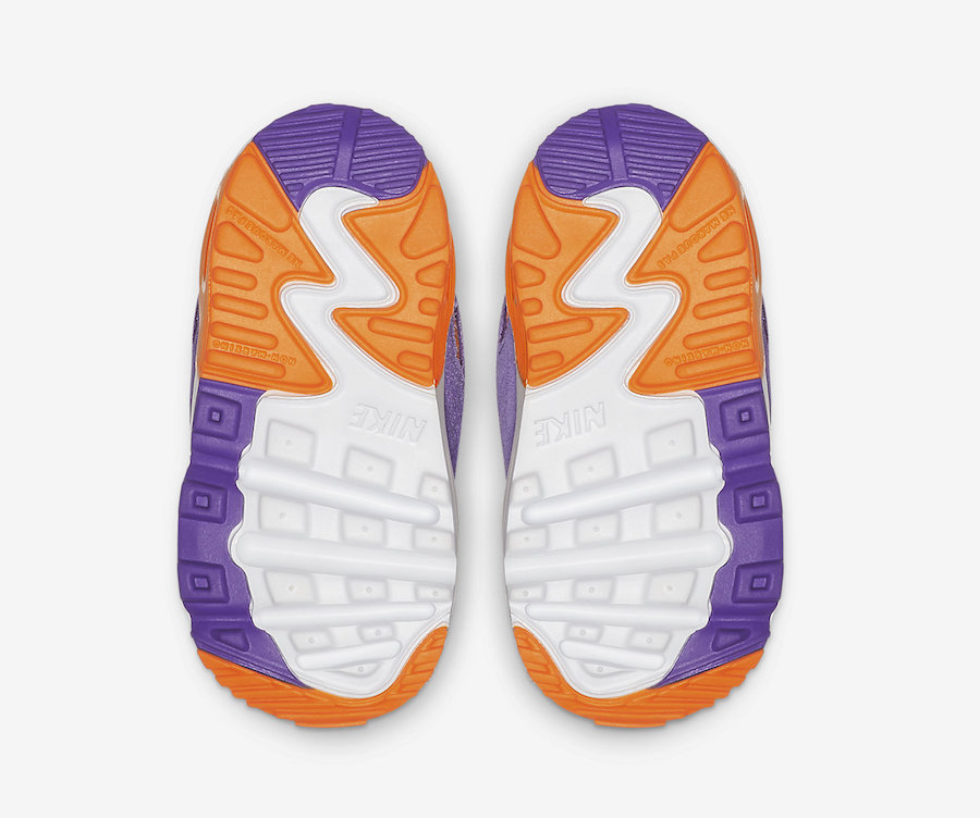 Nike Air Max 90 Viotech Kids Toddler CJ0935-600 Release Date