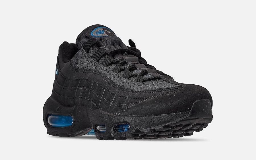Reciclar ceja extraño  Nike Air Max 95 Black Imperial Blue CJ7553-001 Release Date Info |  SneakerFiles