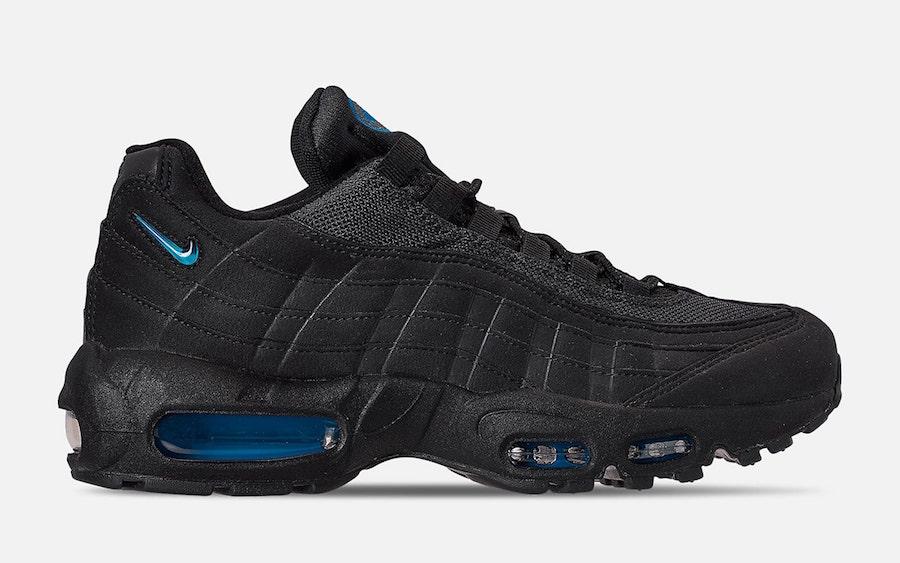 Nike Air Max 95 Black Imperial Blue CJ7553 001 Release Date Info