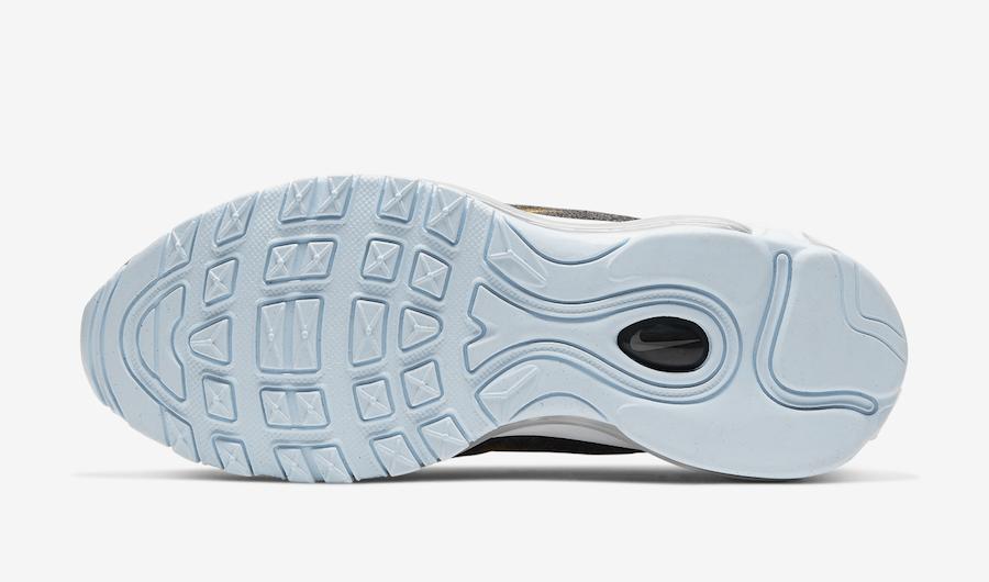 Nike Air Max 97 GS Fleece CD4831-001 Release Date Info