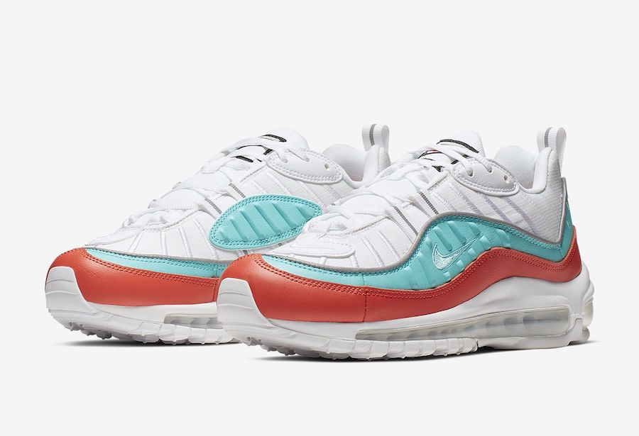 Nike Air Max 98 Cosmic Clay Light Aqua AT6640-801 Release Date Info