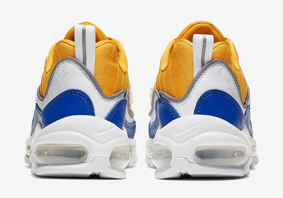 Nike Air Max 98 University Gold Game Royal AT6640-700 Release Date Info