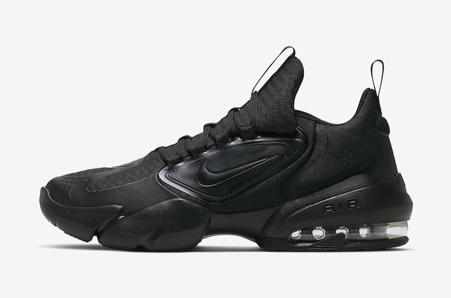 Nike Air Max Alpha Savage Black White AT3378-010 Release Date Info