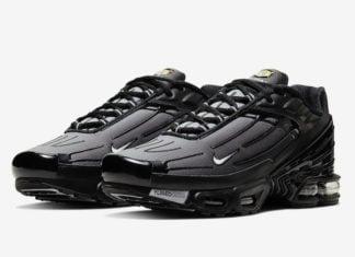Nike Air Max Plus 3 III Black Grey CJ9684-002 Release Date Info