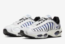 Nike Air Max Tailwind 4 White Black Blue AQ2567-105 Release Date Info