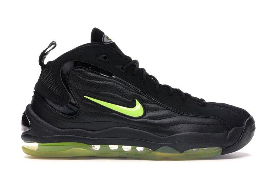 Nike Air Total Max Uptempo Black Volt 2020 Release Date